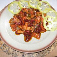 Orlické fazole recept