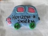 Dort autíčko pro Honzu k svátku recept