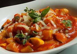 Gnocchi a cuketa v rajčatové omáčce recept