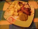 Kuře s česnekovou omáčkou recept