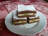 Křehký rebarborový koláč s tvarohem recept