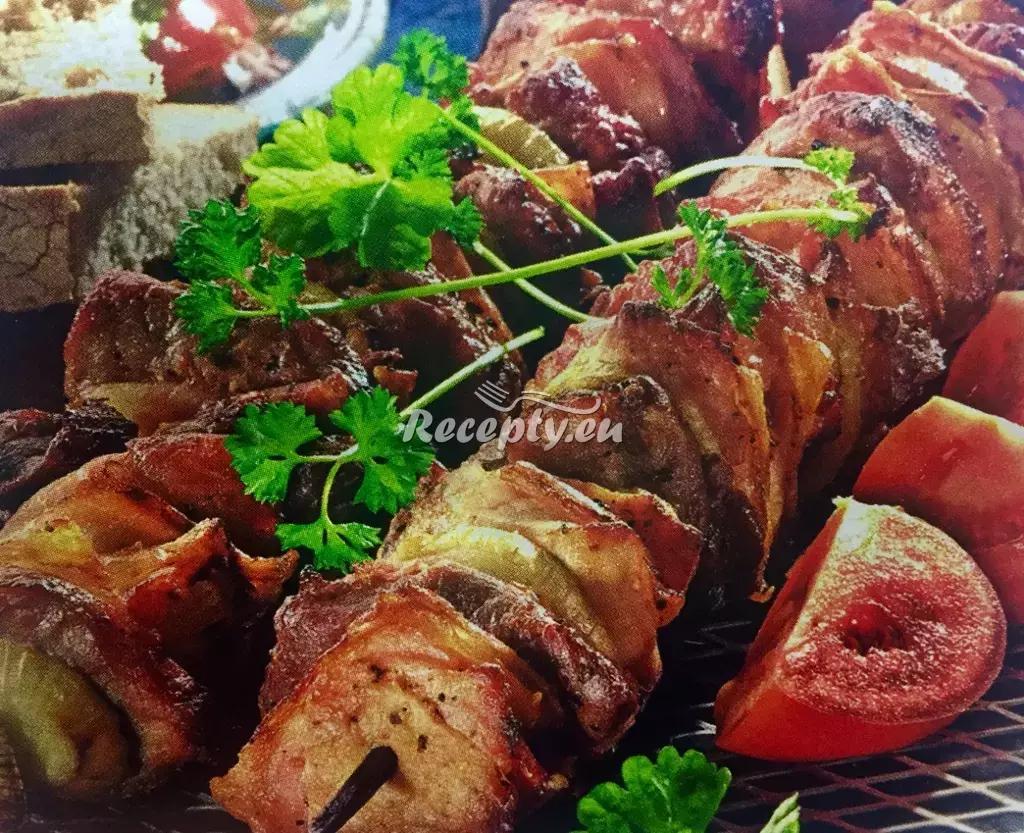 Vepřové ražniči recept  vepřové maso