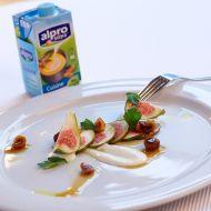 Fíky s kozím sýrem a sladkými oříšky recept