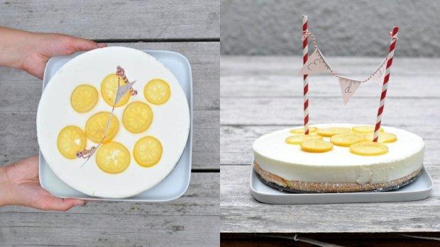 Svěží citronový dort