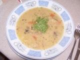 Hrachová polévka z uzených křížových kostí recept