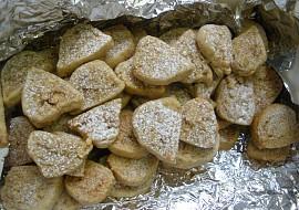 Ořechové roládky  cukroví recept