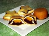 Trojbarevné muffiny recept