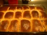 Domácí buchty s jahodovou marmeládou recept