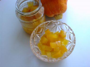 Kompot z dýně s ananasem