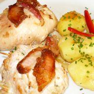 Plněné kuřecí plátky recept