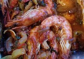 Krevety v pikantní zelenině na egyptský způsob recept  TopRecepty ...