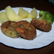 Brokolicové krokety s nivou recept