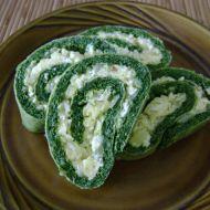 Velikonoční špenátová roláda recept