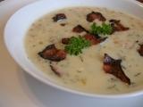 Krémová fazolová polévka s koprem recept