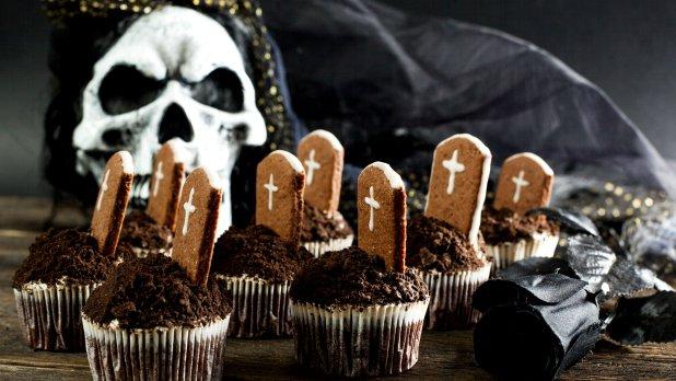 Strašidelné cupcaky