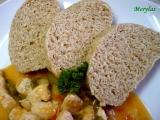 Přílohové knedlíky s grahamovou moukou a bez vajec recept ...