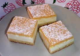 Smetanový koláč  falešný tvarohový recept
