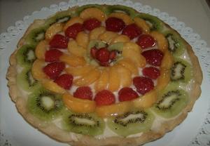 Letní linecký koláč