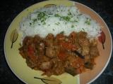 Čína ze sojového masa a játry recept