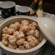 Cukroví z kokosového těsta recept