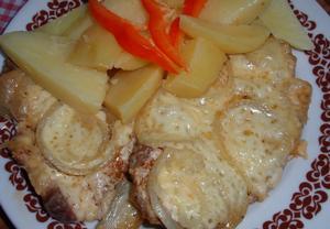 Majolková krkovička se sýrem