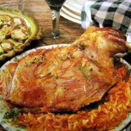 Kyperská jehněčí pečeně recept