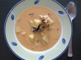 Kyselá polévka se sušenými houbami recept