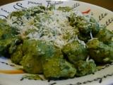 Špenátové gnocchi recept