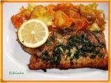 Smažený rybí filet s bylinkovým osvěžením recept