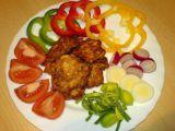 Kuřecí placičky v pálivém obalu recept