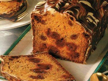 Mramorový chlebíček se sladidlem