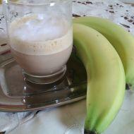 Ledová káva s banánem recept