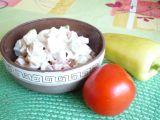Zeleninový salát s pikantním dresinkem recept
