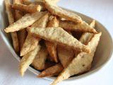 Parmazánové krekry s ořechy recept