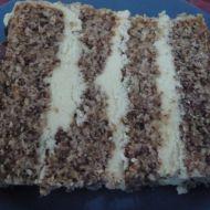Oříškový dort recept