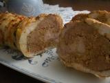 Kuřecí roláda plněná kuřecími játry recept