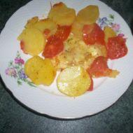 Zapečený pangas s rajčaty recept