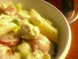 Těstovinový salát – verze TUŇÁK recept
