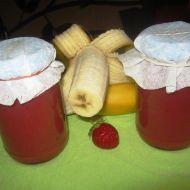 Jahodovo-banánová marmeláda recept
