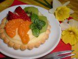 Ovocné koláčky s likérovým pudinkem recept