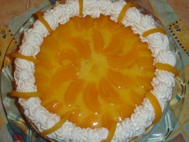 Recept Broskvovo-meruňkový dort