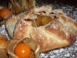 Medové koláčky s ovocem recept