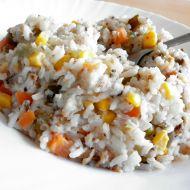 Šťavnatá zeleninová rýže recept
