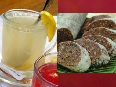 Jablečný absinth a ořechový salám