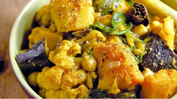 Indické zeleninové kari