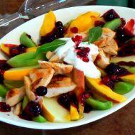 Ovocný salát s medem recept