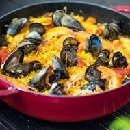 Tradiční paella recept