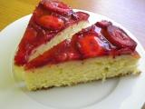 Jahodovo-želatinový dort recept