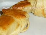 Slané máslové croissanty recept