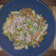Těstoviny s tuňákem a olivami recept